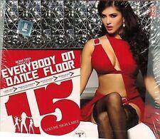 EVERYBODY ON DANCE FLOOR 15 -(COCKTAIL,RAAZ 3,BOL BACHCHAN) 2 CDBOLLYWOOD REMIX