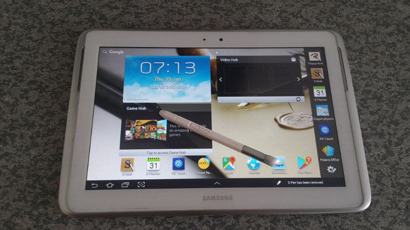 Samsung Note 10.1 Tablet - Writing Tablet with Pen