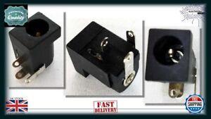 Arduino-10pcs-5-5mm-x-2-1mm-DC-12V-Panel-Socket-Female-Round-Jack-CCTV-LED-NC090