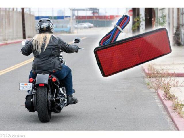 2PCS Motorcycle Universal 24LED Turn Signal Tail Brake License Plate Stop Lights