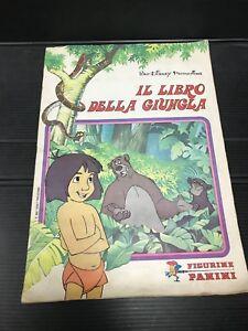IL-LIBRO-DELLA-GIUNGLA-album-figurine-completo-1983-Walt-Disney