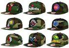 New Era Authentic NBA 9Fifty 950 Snapback Camo State Clip Original Fit Hat Cap