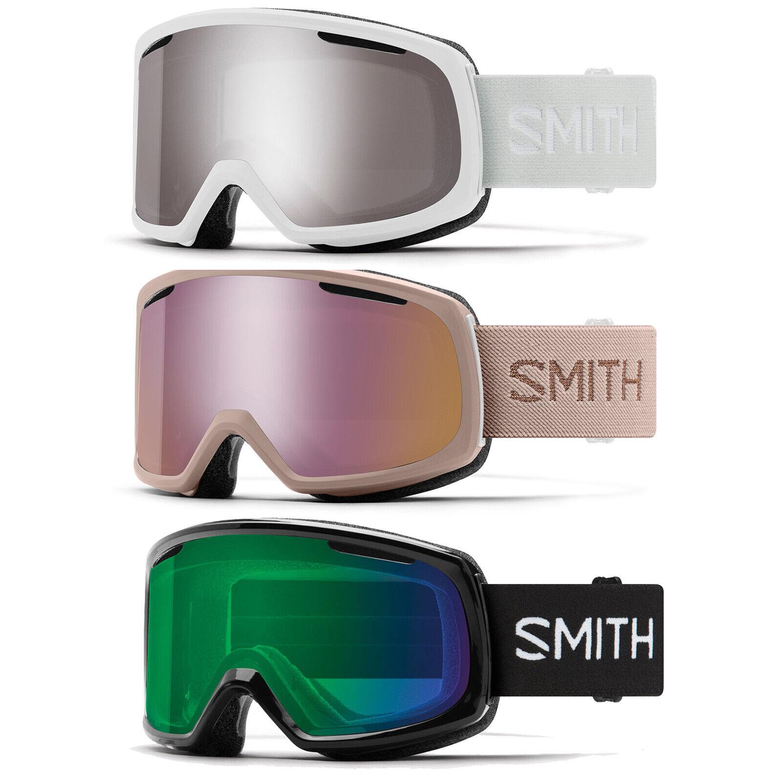 Smith Riot Damen-Snowboardbrille Skibrille Schneebrille + Wechselscheibe M00672