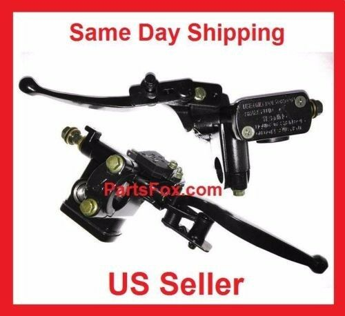 Left Brake Lever Handle 50 70 90 110 125 150 cc ATV Quad Chinese Peace Taotao
