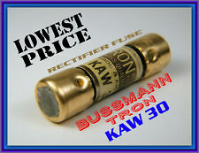 LOT OF NEW OLD STOCK BUSSMANN 15A TIME DELAY FUSES FWP-15A14FA 5