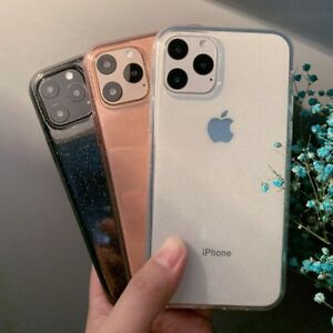 Glitter-Transparent-Silicone-Soft-Case-Cover-For-iPhone-11-Pro-XS-Max-XR-X-8-7-6