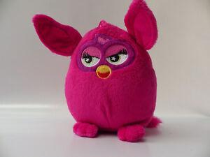 Plush-Teddy-Furby-2013-Pink-Fushia-18-CM