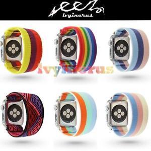 For-Apple-Watch-iWatch-Series-5-4-3-2-1-Scrunchie-Elastics-Loop-Band-Strap-New