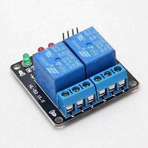 2-Kanal-DC-5V-Relais-LED-Anzeige-Relay-Modul-Arduino-ARM-PIC-AVR-3303