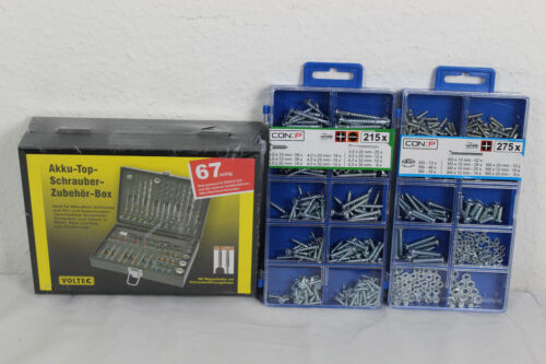 Bit Set Bohrerbox 67 tlg Akkuschrauberzubehör z.B.für Bosch+DP8500052+DP8500055