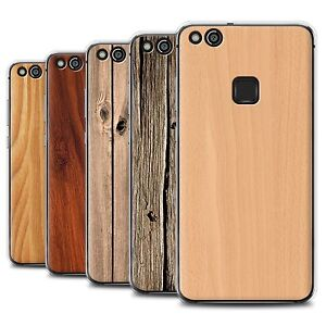 huge discount 93c19 21e38 Details about STUFF4 Gel/TPU Phone Case for Huawei P10 Lite /Wood Grain  Effect/Pattern