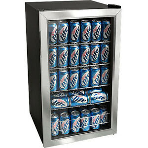 Superieur Image Is Loading Stainless Steel 118 Can Beverage Cooler Refrigerator  Compact