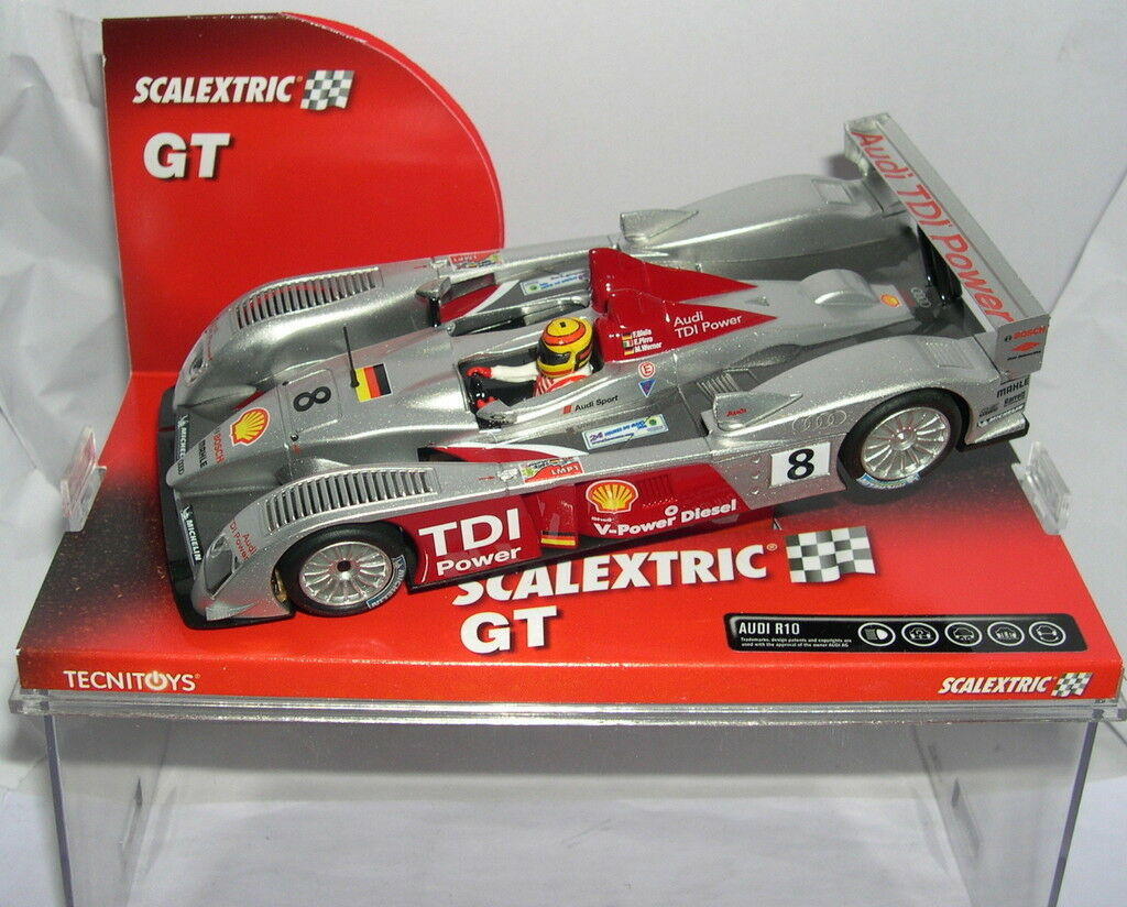SCALEXTRIC 6251 AUDI R10 F.CONNECTING ROD-E.PIRRO-M.WERNER MB