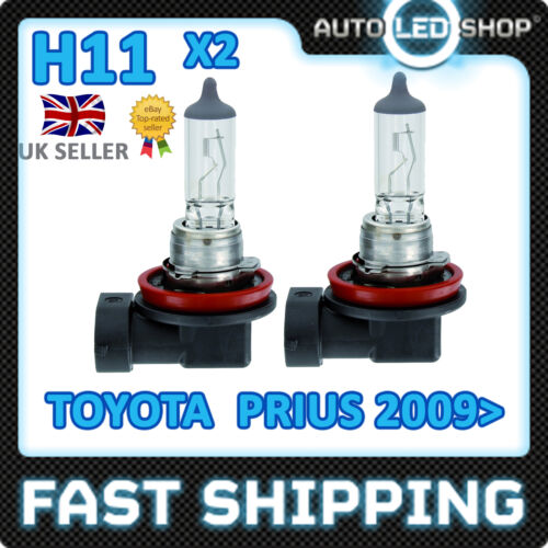 H11 TOYOTA PRIUS HEADLIGHT BULB HIGH QUALITY E MARKED REPLACEMENT UBER TAXI