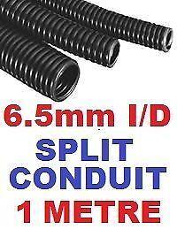 6,5 mm split conduit tube manches alambiquée fil de câble Harnais 1 metre 1m.