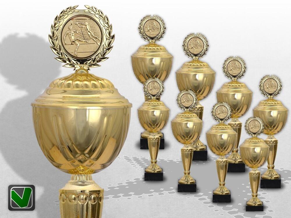 8er 8er 8er Pokalserie XXL GoldEN SUPREME Pokale Gold mit Gravur günstige Pokale kaufen 30138b