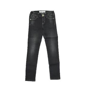 Pantalone-Nero-in-Tinta-Unita-Effetto-Jeansato-Bambina-Take-Two-PO3506