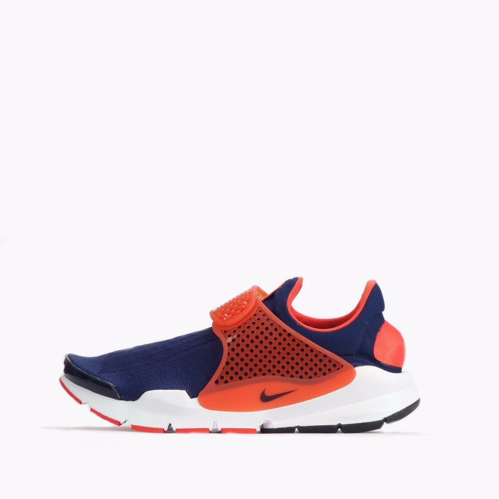 Nike Sock Dart Jacquard Mens Womens Unisex Shoes Midnight Navy/Max Orange