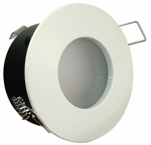 Nassraum Einbau Spot AQUARIUS 230V 10er SMD LED 3W = 30W GU10 IP54