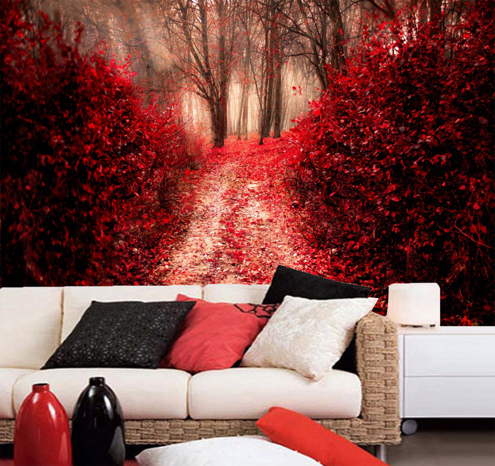 3D Trees ROT Leaves 233 Paper Wall Print Wall Decal Wall Deco Indoor Murals