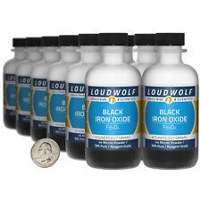 Iron Oxide Black 6 Lbs 12 Bottles 99 Reagent Grade 44 Micron Powder