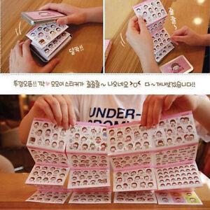 Tin-Case-Cute-Diary-Calendar-Filofax-Schedule-Notebook-Deco-Sticker-Craft-RD