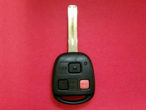 Lexus RX300 Remote Head Key Dot Triangle Pink Panic Button NI4TMTX-1