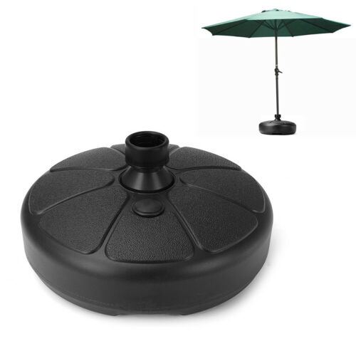 LN/_ 38mm Round Outdoor Garden Beach Yard Umbrella Stand Parasol Base Holder La