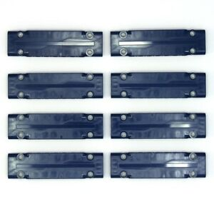 Lego Technic - Earth Blue Studless Flat 3x11 Panels - 8 Parts - 6151062 - NEW