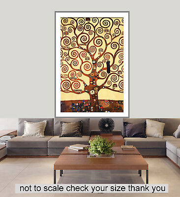 A0 A1 A2 A3 A4 Sizes World Map Coffee Giant Poster Art Print