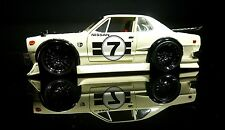 1/24 2004 Muscle Machines Nissan Skyline GT-R 2000 race car white Very rare New