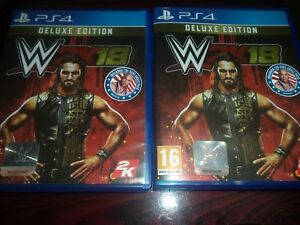 WWE-2K18-Deluxe-Edition-PS4-Game-INCLUDE-KURT-ANGLE-PACK
