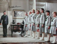 CHRISTOPHER PLUMMER Signed 16x12 Photo THE SOUND OF MUSIC COA