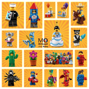 LEGO-71021-Series-18-MINIFIGURES-17-FACTORY-SEALED-Set-Party-Theme-CMF-Complete