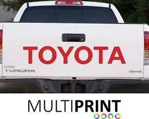 1x Toyota Hayon Camion Voiture Vinyle Autocollants/decals Graphics Toy2-afficher Le Titre D'origine