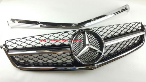 MERCEDES BENZ W204 C63 USE ONLY GRILLE EXCLUSIVELY FOR C63 AMG Upper part