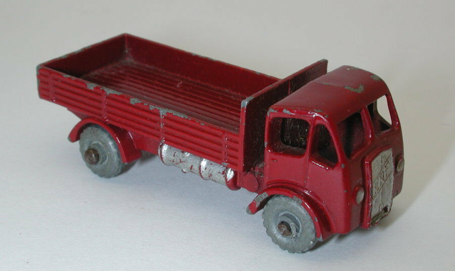 Vintage Matchbox gris Rueda  20 Granate ERF ERF ERF Estaca camión oc16679 f67429