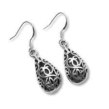 925 Sterling Silver Hook Earrings cute drop dangle Charm pendant