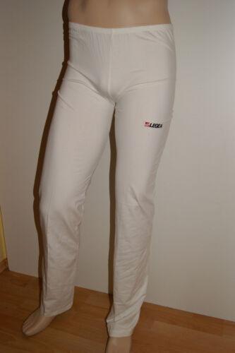 AKTION !! 1//1 Fitnesshose PANTAJAZZ von LEGEA weiß S M,L,.XL Baumwolle
