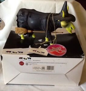 Wicked Witch Figurine  of the West Wizard of Oz Cow Parade RARE