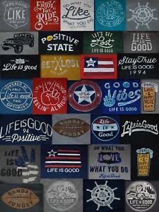 DIFFERENT-NWT-Men-039-s-Life-is-Good-Go-To-LS-Pullover-Hoodie-Sweatshirt