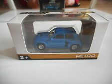 Norev Renault 5 Turbo in Blue on 1:64 in Box