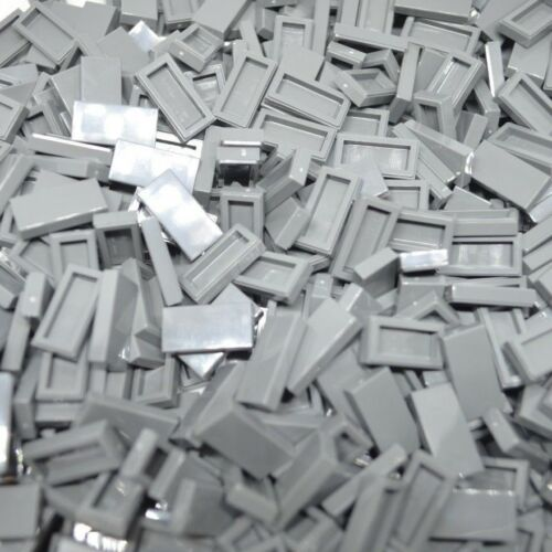 LEGO 5 x Dark Grey 2x2 Tiles Part No 3069 City Pavement Star Wars