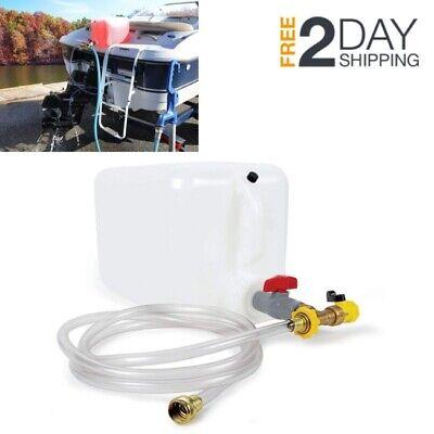 DIY Prep Boat Winterizing Marine Engine Antifreeze Winterizer Storage System Kit
