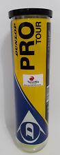 Marken-Tennisbälle Dunlop Pro Tour 4er Dose -  (BTV 1.0 bei uns erhältlich*)