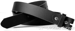 Buckleguertel-3-cm-breit-Lederguertel-Wechselguertel-Guertel-fuer-Buckle