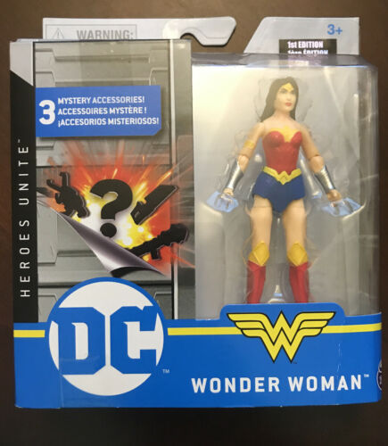 1st Édition Wonder Woman 2020 DC Heroes Unite Spin Master 4 in environ 10.16 cm