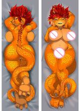 Anime Furry Orcus Fandom Female Tiger Dakimakura Hugging Body Pillow Case 105cm