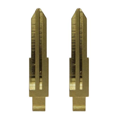 Rohlinge passend NISSAN Rohling 2 Stück Schlüsselrohlinge Schlüssel #10 KeyBlade