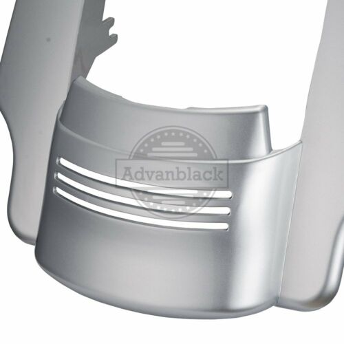 Brilliant Silver Stretched Rear Fender Extension For 14-19 Harley Touring Road